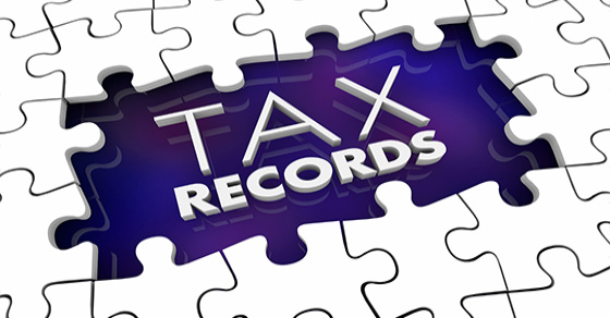 What tax records can you throw away?